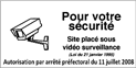 video surveillance au CMEF